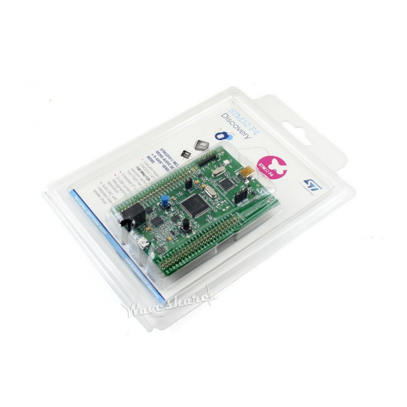 STM32F411E-DISCO /32F411EDISCOVERY, STM32 Discovery Board Kit with STM32F411VE MCU, Embedded Debug Tool ST-LINK/V2 32f429idiscovery stm32f429i disc1 stm32f4 discovery kit stm32 board embedded on board debug tool st link v2 b