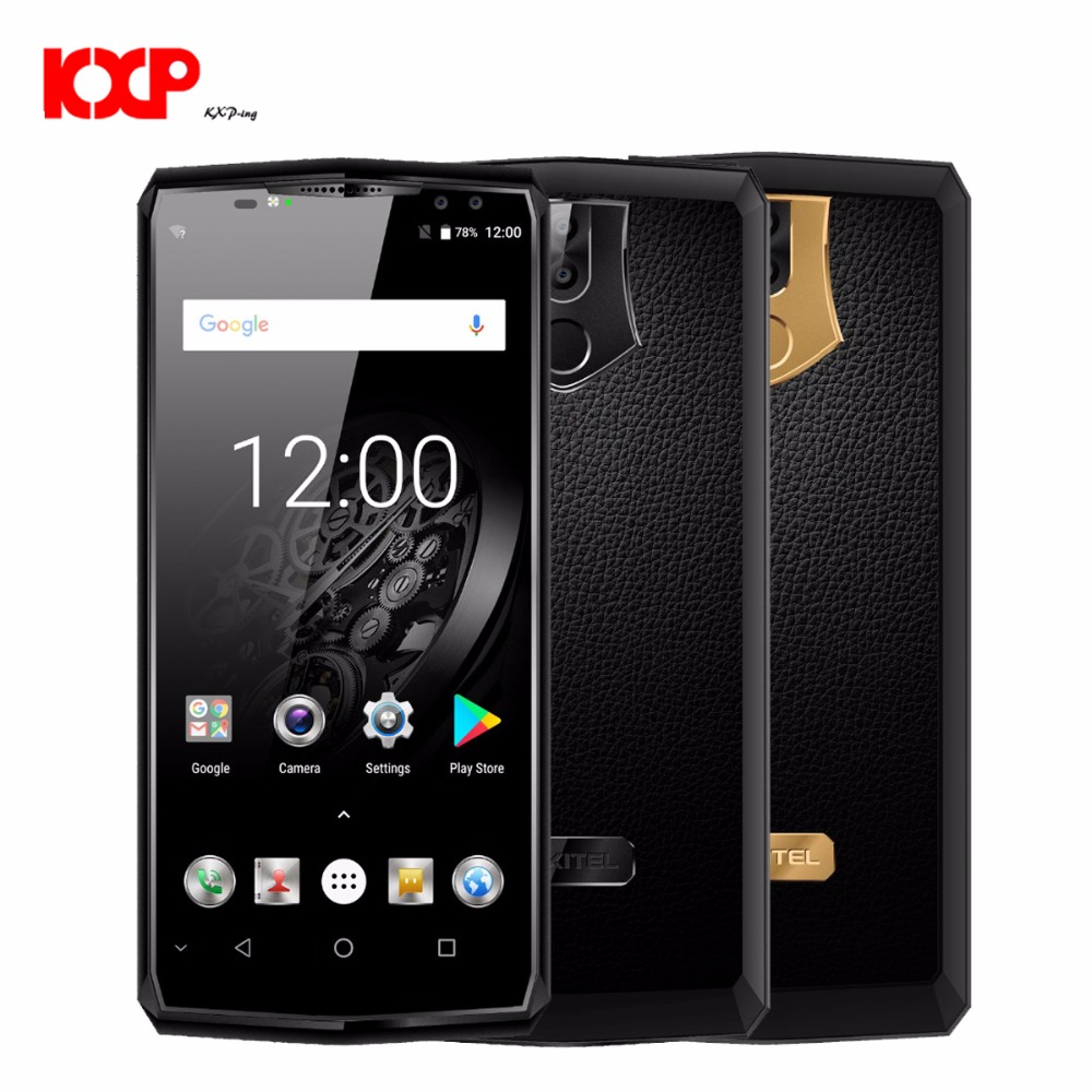 OUKITEL K10 4G Phablet 6.0 inch Android 7.0 MTK6763 Octa Core 2.0GHz 6GB RAM 64GB ROM 11000mAh Battery Quad Cameras