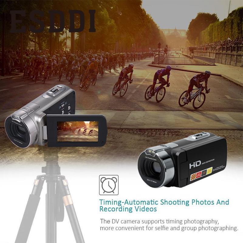 2018 nouveau 2.7 pouces 1080 P HDV-312P caméra vidéo numérique usage domestique DV LCD écran professionnel extérieur caméras voyage garçon cadeau - 4