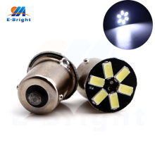 50 PCS S25 1156 P21W 5730 6 SMD DC 12V Auto Car Light Corner Light White Blue Red Color Led Signal Turn Light Side Marker Light
