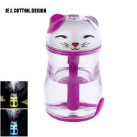 180ML Air Humidifiers USB Fogger For Home Appliances Car Aroma Essential Oil Diffuser Ultrasonic Humidifier With