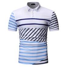 קצר שרוול פולו חולצות גברים חדש קיץ פולו חולצות לגברים אופנה בגדים