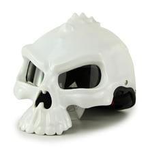 Masei 489 100 Original Half Face Helmet Skull Motorcycle Helmet Motorbike Capacetes Moto Casco Retro Casque