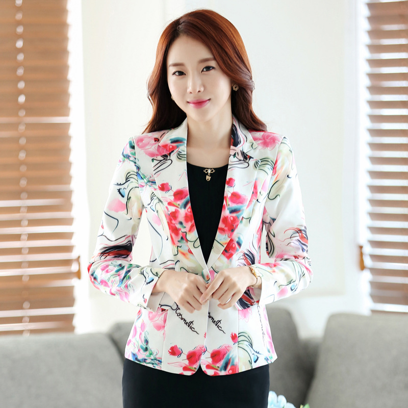 liva girl Ladies Short Suit Jackets In Women Blazer Elegant Double Breasted Blazer Women Business Suit Blouson Femme Casual Tops