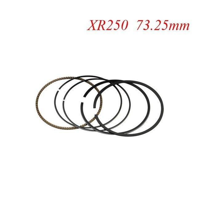 Мотоцикл Поршневые Кольца Набор Для Honda XR250 XR 250 BAJA250 (+ 25) 0.25 мм Негабаритных Диаметр Отверстия 73.25 мм НОВЫЙ