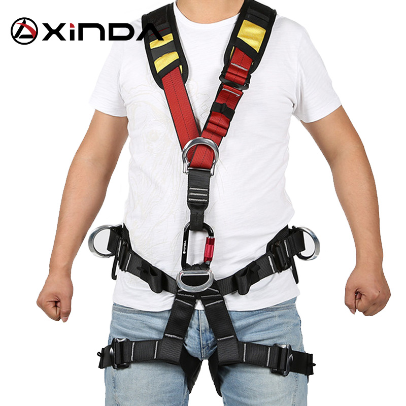 XINDA Outdoor Kids Safety Harness Climbing Equipment Waist Solid Safety Belt