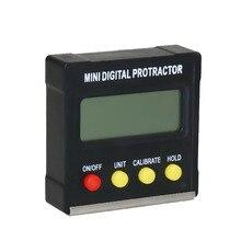 360 grad Mini Digitale Winkel Finder Winkelmesser Magnetische Elektronische Digitaler Ebene Box Neigungsmesser Winkelmesser Mess Werkzeuge