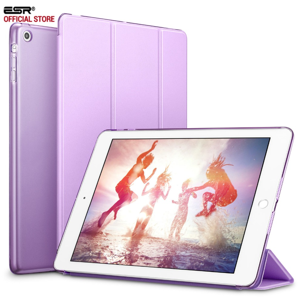 Case for iPad Mini 3 2 1,ESR PU Leather Silicone Soft Back Trifold Stand Auto Sleep/Wake up Smart Cover for iPad Mini 2 Case стоимость