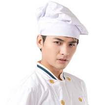 New Arrival Chef Hats Unisex Restaurant Kitchen Cooking Hat Hotel Working Cap Adult Cap White Cook Food Prep Caps Hot Sales(China)