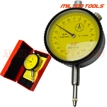 5 мм микрон циферблат индикатор Драгоценности циферблат Калибр 0-5 мм 0,001 мм