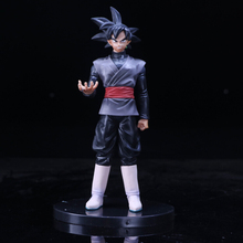 Anime Dragon Ball Super Goku Black PVC 20cm Action Figure Zamasu vol.2 Collection Model Doll Toys goku figure juguetes brinquedo