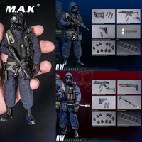For Collection 1/12 Scale Full Set POCKET ELITE SERIES SAS CRW Assaulter/Breacher Action Figure Model for Fans Gifts