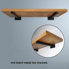 Floating Mounted Set of 2 Rustic Wood Wall Shelves for Living Room Bedroom Bathroom