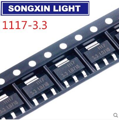 1000 ชิ้น/ล็อตOriginal AMS1117 3.3 AMS1117 3.3V AMS1117 LM1117 1117 ให้คุณภาพคุณภาพดี