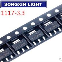 1000 sztuk/partia oryginalny AMS1117 3.3 AMS1117 3.3V AMS1117 LM1117 1117 Regulator napięcia zapewniamy tylko dobrej jakości