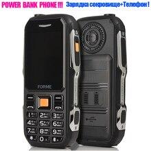 Мощность Bank зарядное устройство мобильного телефона! FORME D серии пылезащитный противоударный сотовых телефонов лучше, чем stone v3 v3s NO.1 a9 для смарт телефона