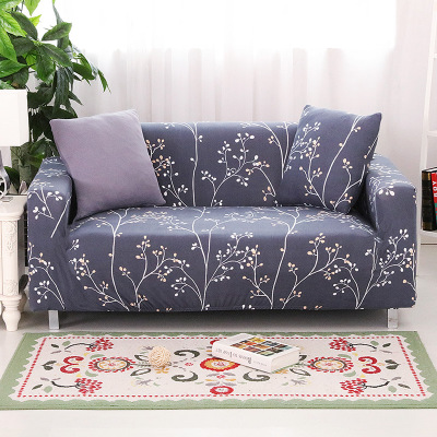 Sofa Towel Four Seasons Universal Stretch Sofa Covers Furniture Protector Polyester Modern Loveseat Couch Cover 1/2/3/4-seater