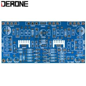Image 1 - 1 200W Mono Bộ Khuếch Đại Công Suất PCB Bảng 1943 + 5200 Cho Audiophile DIY