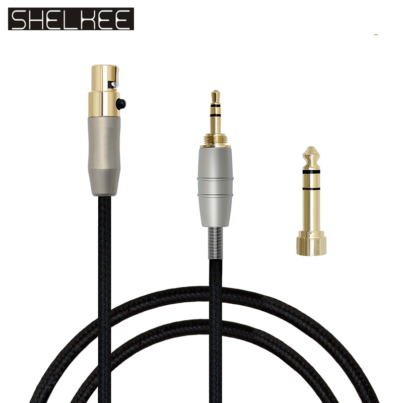 SHELKEE Replacement Upgraded <font><b>Cable</b></font> for AKG Q701 <font><b>K702</b></font> K267 K712 K141 K171 K181 K240 K271MKII K271 Pioneer HDJ-2000 Headphones image