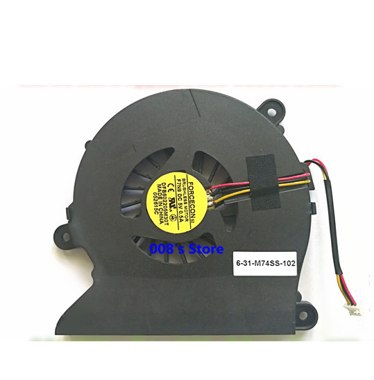 New Laptop CPU Fan for Clevo M761