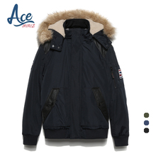 ACEMIRIZ Men's Parkas Fashion Thick Winter Coats Men Cotton For Male Brand Clothing Hommer High Quality Hooded Parkas FH-2530