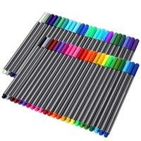 60 PCS Fine Line Fineliner Color Colored Pen Set Sketch Drawing Pen 60 Assorted Colors For