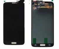 Сенсорный экран телефона в сборе для samsung S5 G9006V G9008V W G9009D W G900H Мобильные аксессуары touch Панель Экран сборки