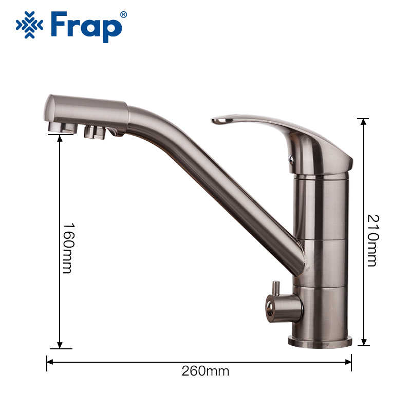 FRAP キッチン蛇口 360 回転キッチンシンクの蛇口フィルタリング水ミキサータップ蛇口キッチンシンクタップ