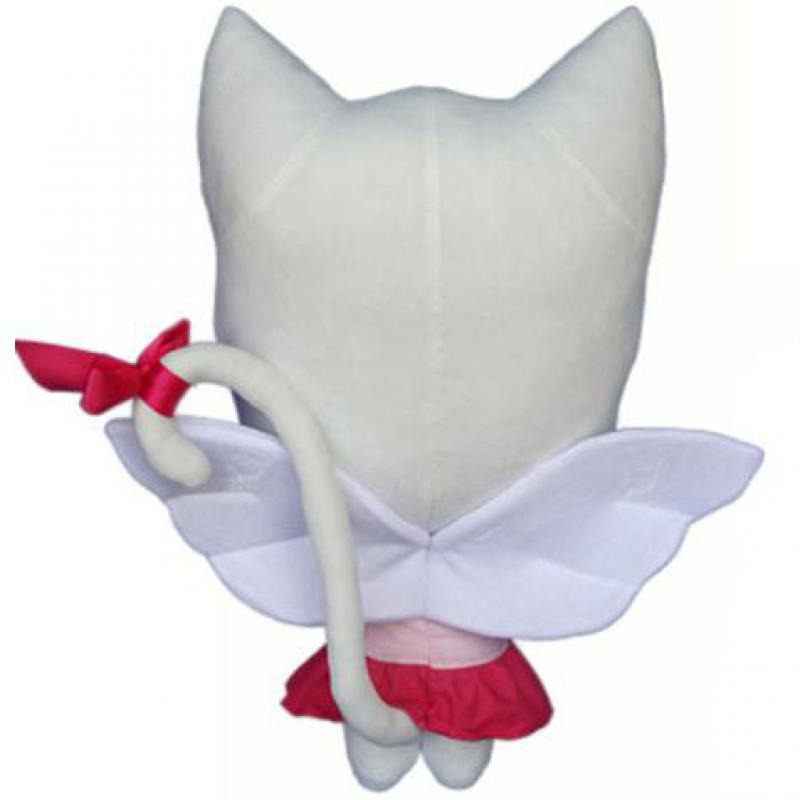 58cm anime fairy tail charles lulu plush toy kawaii happy charles cat stuffed toys doll figure toy for kids gifts in movies tv from toys hobbies on