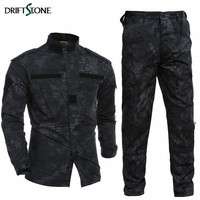 Kryptek Typhon Tactical Uniform Camo Combat Uniform BDC Field Uniform Camouflage Set Jacket Pants Men's Army Uniform