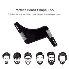 OSHIONER Beard Styling Template Stencil  Beard Comb for Men Lightweight and Flexible  Fits All-In-One Tool Beard Shaping Tool