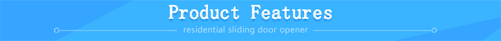 Residential Sliding Door Opener Features