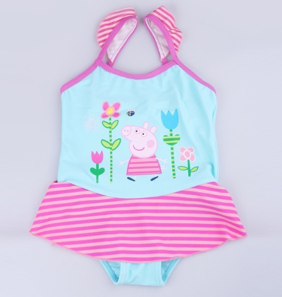 1279a2ee37 Peppa Pig Swimsuit Peppa Pig Swimwear Girls Swimsuit Bikini Tankini Swimwear  Kids