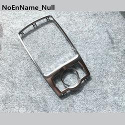 Srebrny chrom MMI gałka zmiany biegów rama ustalająca PANELTRIM BOX dla AUDI A6 C6 AVANT Allroad Quattro 4F0 864 260 A w Panele i części do drzwi wewnętrznych od Samochody i motocykle na