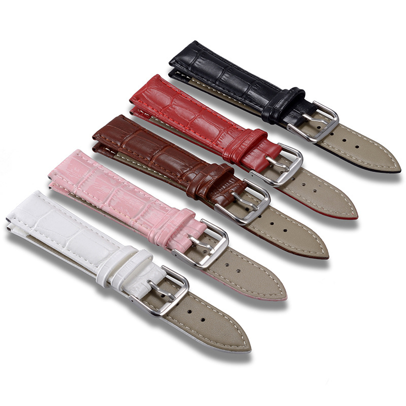 New watch bracelet belt black watchbands genuine leather strap watch band 16mm 23mm 18mm 20mm 22mm watch accessories wristband цена