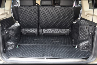 Top Carpets! Special Trunk Mats For Mitsubishi Pajero 5seats /7seats 2017-2007 Waterproof Cargo Liner Boot Carpets,Free Shipping
