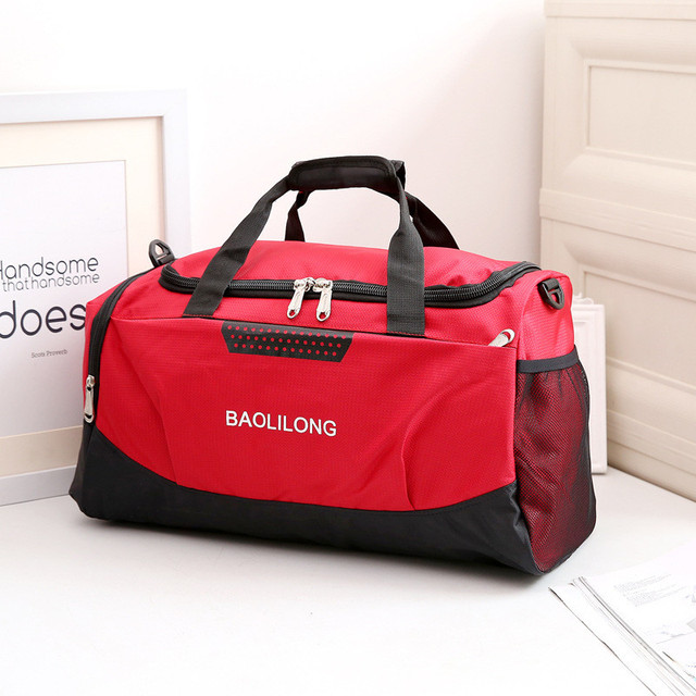 597ac61b98d Men Travel Bags Women Large Capacity Travel Duffle Bag Casual Nylon  Waterproof Luggage Duffle Bags Shoulder