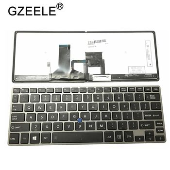 GZEELE NEW США клавиатура для ноутбука Toshiba Portege Z30-A Z30-B Z30-C  Z30T-A Z30T-B B1310 B1320 Z30T-C английский