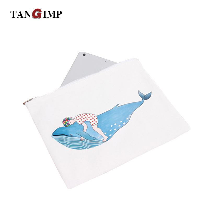 TANGIMP Women Men Canvas Wallets Whale Fish Purse Vintage Storage Bags monederos Card Bags bolsas carteira feminina Fresh Style tangimp cool cat purse vintage wallets 2017 women men canvas storage bags monederos card bags bolsas carteira feminina fresh