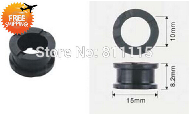 Free shipping O Rings Fuel Injector Rubber Seal 15x10x8 2mm 500pcs Repair Kits Rubber sealings