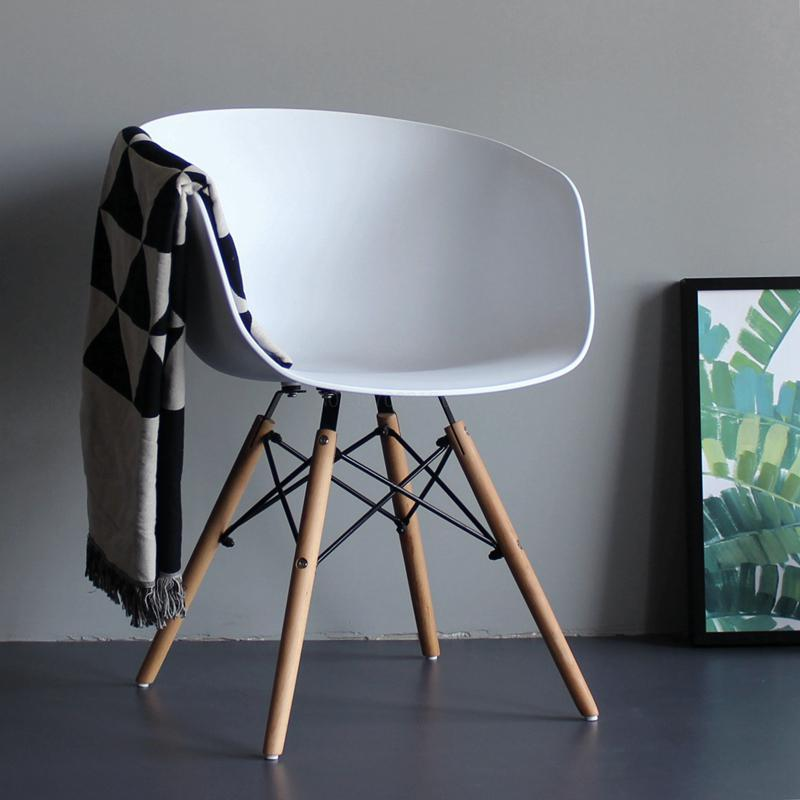 Terrific Nordic Office Stools Orange Modern Chair Household High Quality Restaurant Chairs Business Chairs Multicolor Ncnpc Chair Design For Home Ncnpcorg
