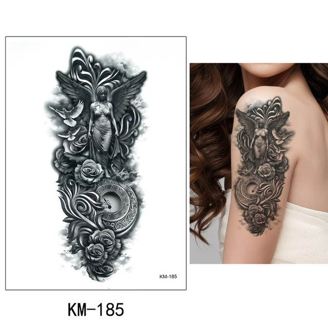 28d85fb11 קנו אמנות הקעקוע והגוף | 1x DIY Body Art Temporary Tattoo Colorful ...