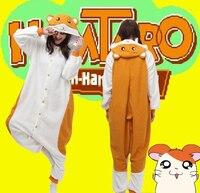 Hot słodkie japoński anime kigurumi cosplay costume fancy dress kapturem piżamy piżamy hamtaro hurtownie