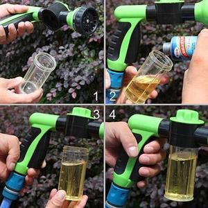 Image 2 - Tragbare Auto Schaum Wasser Pistole Hochdruck 3 Grade Düse Jet Auto Washer Sprayer Reinigung Werkzeug Autos Waschen Schnee Schaum gun