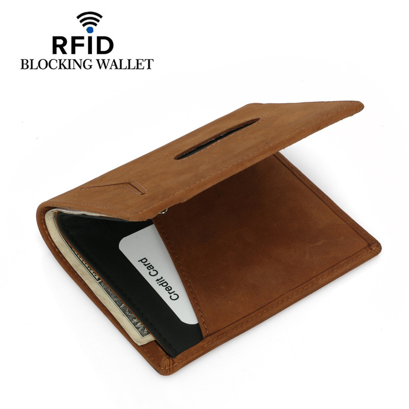 Wholesale Women's Wallet Genuine Leather For Credit Cards New Card Holder Casual Id Holders Rfid