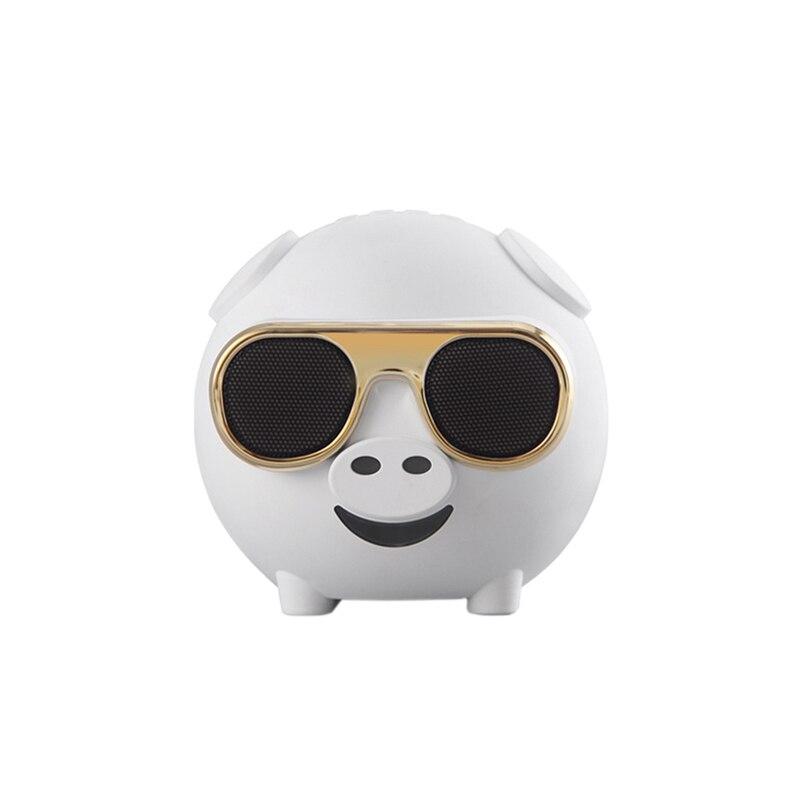 Hiperdeal Bluetooth Lautsprecher 2019 M60 Schwein Form Drahtlose Bluetooth Singen Lautsprecher Mit Mikrofon Für Karaoke Mar20 RegelmäßIges TeegeträNk Verbessert Ihre Gesundheit Lautsprecher Subwoofer