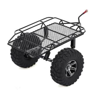 1/10 Remote Control Climbing Car Small Trailer High-Grade Metal Wheel Modification Upgrade Accessories D90 SCX10 trx4