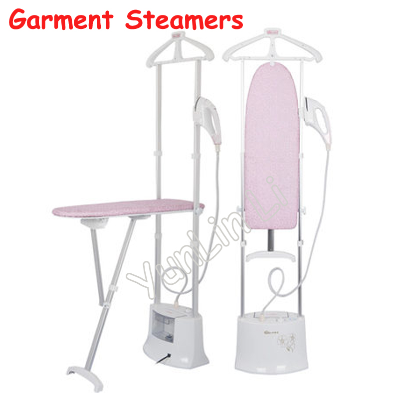 Pressurized Garment Steamers Double Pole Household Hanging Machine Clothing Store Steam Ironing Machine LS-708D household garment steamer 1 6l handheld clothes steamer vertical steam ironing machine ls 708d