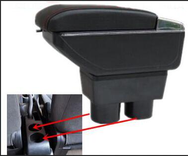 Goods Collection For Nissan Tiida armrest box center Storage box with cup holder ashtray interior accessories parts decoration 2005-2014
