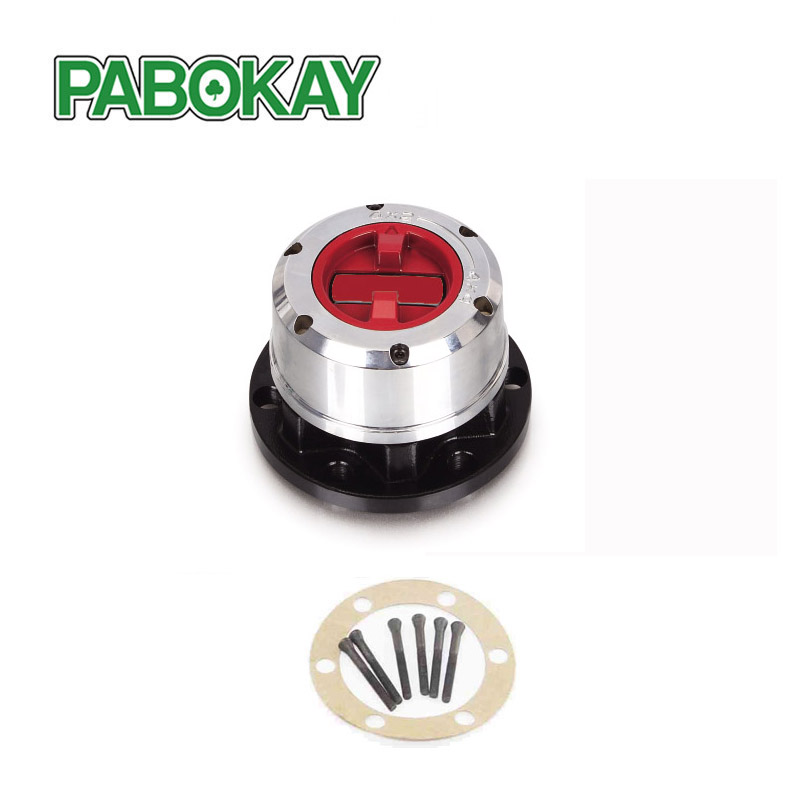 1 piece x for NISSAN Patrol 4x4 PU 90-up TATA Sumo all,  FORD Maverick 90--> free wheel locking hubs B021HP AVM445HP